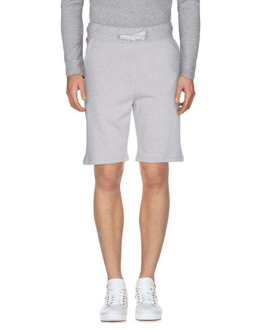 Bagutta - Gray Bermuda Shorts for Men - Lyst
