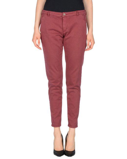 40weft - Purple Casual Trouser - Lyst