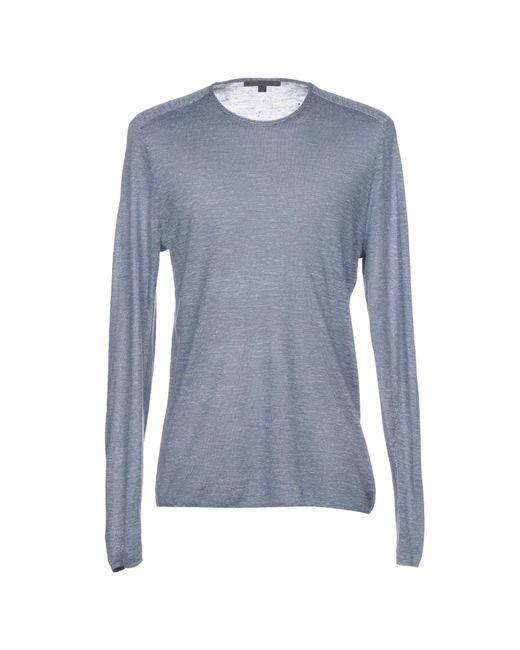 John Varvatos - Blue Sweater for Men - Lyst