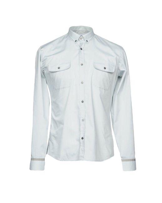 Takeshy Kurosawa - Gray Shirt for Men - Lyst