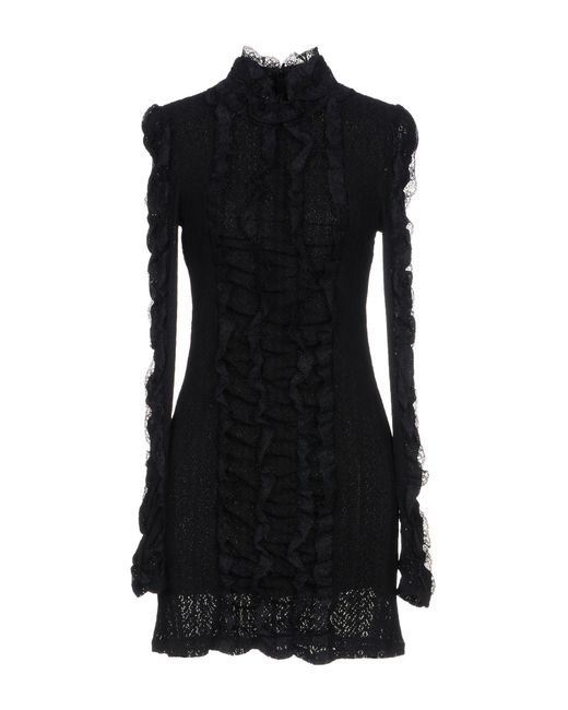 Philosophy Di Lorenzo Serafini - Black Short Dress - Lyst