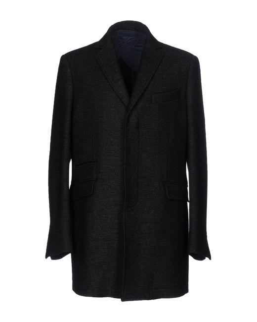 Domenico Tagliente - Gray Coat for Men - Lyst