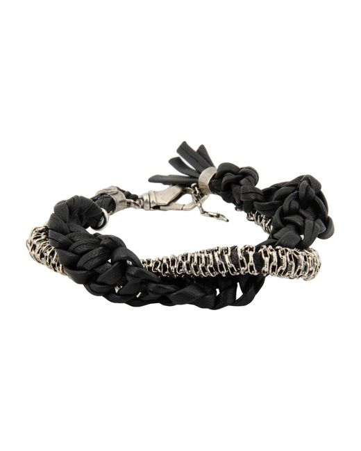 Emanuele Bicocchi - Black Bracelet - Lyst