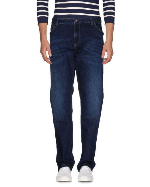 Napapijri | Blue Denim Pants for Men | Lyst
