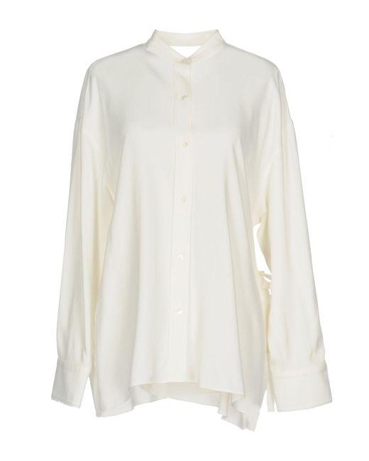 Helmut Lang - White Shirt - Lyst