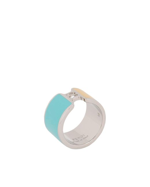 Fendi - Blue Ring - Lyst
