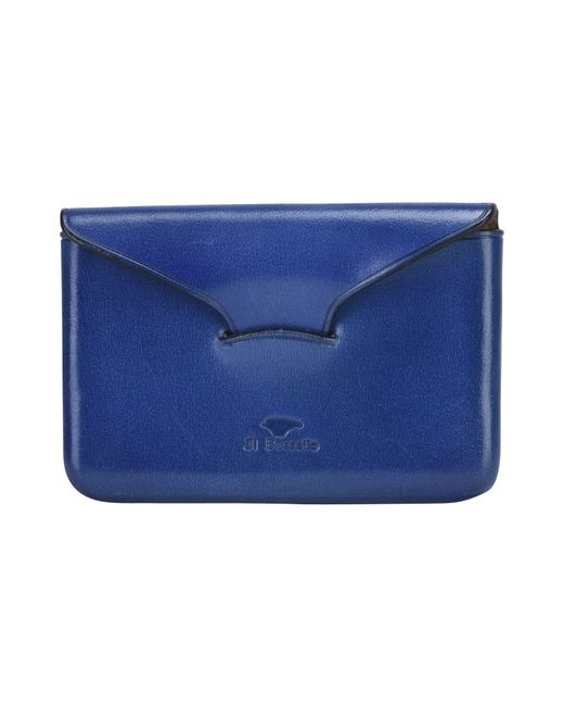 Il Bussetto - Blue Document Holder for Men - Lyst