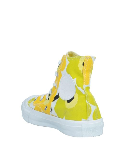 26be73cfce4 ... Lyst Converse - Yellow High-tops   Sneakers ...