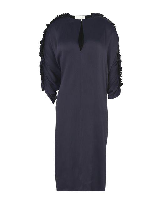 Maison Rabih Kayrouz | Purple Knee-length Dress | Lyst
