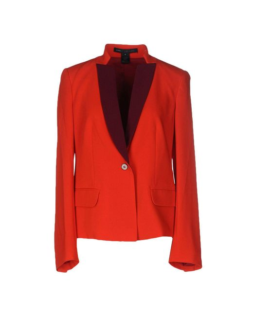 Marc By Marc Jacobs   Red Blazer   Lyst
