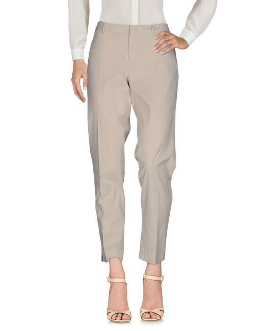 Pt0w - Natural Casual Trouser - Lyst