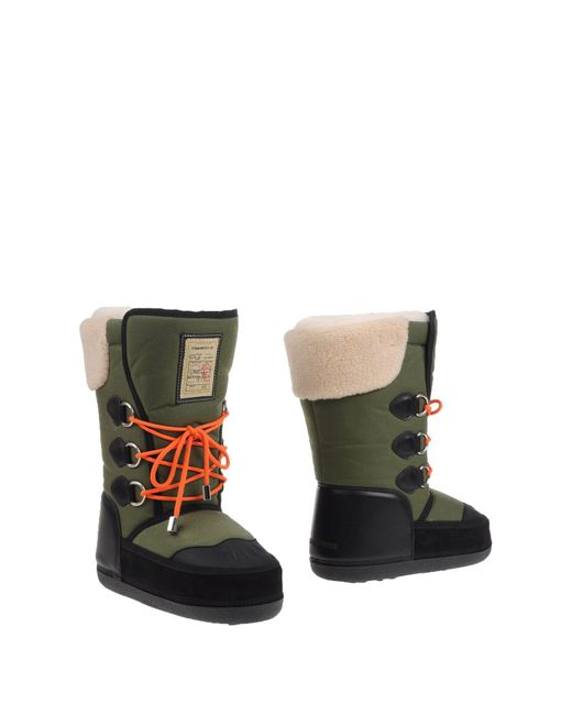 DSquared² - Green Boots for Men - Lyst