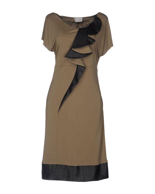 Roberta Scarpa | Natural Knee-length Dress | Lyst