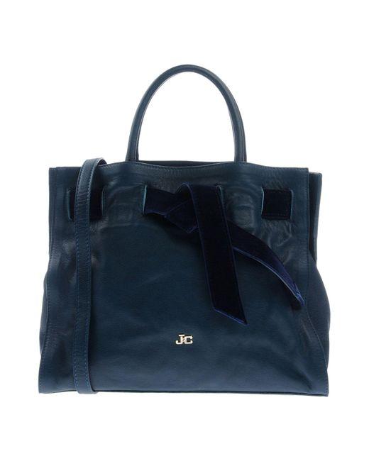 J&c Jackyceline - Blue Handbag - Lyst
