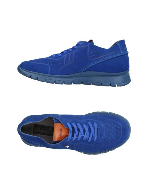 Cesare Paciotti - Blue Low-tops & Sneakers for Men - Lyst