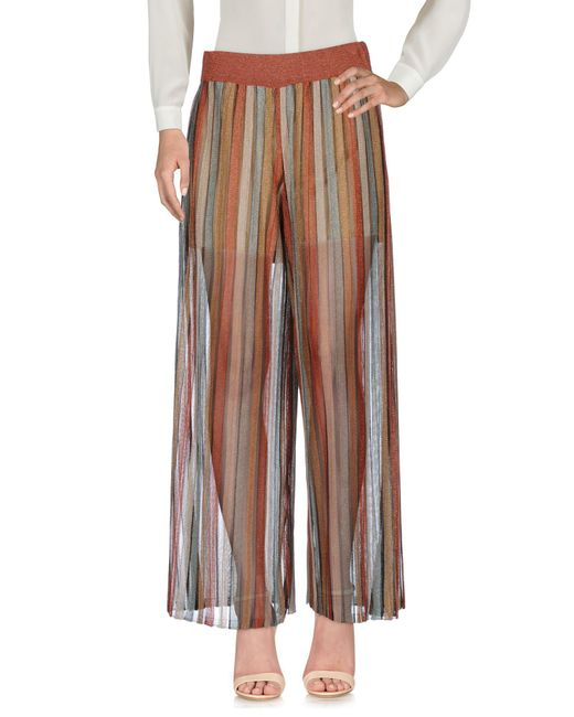 Jucca - Brown Casual Trouser - Lyst