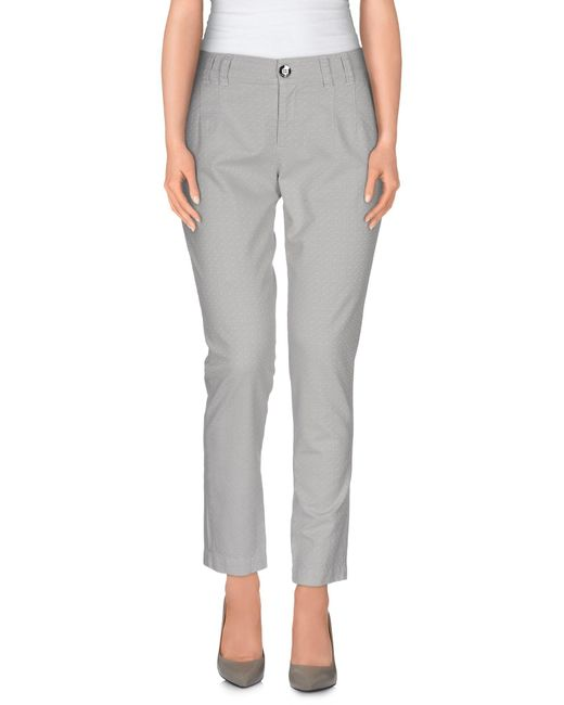 Pinko | Gray Casual Trouser | Lyst