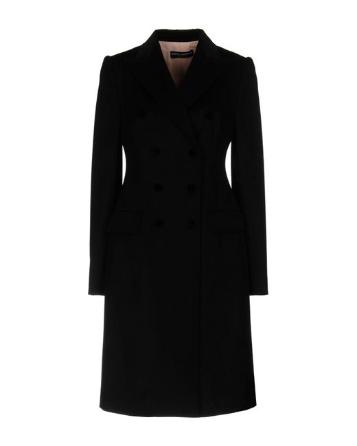 Dolce & Gabbana - Black Coat - Lyst