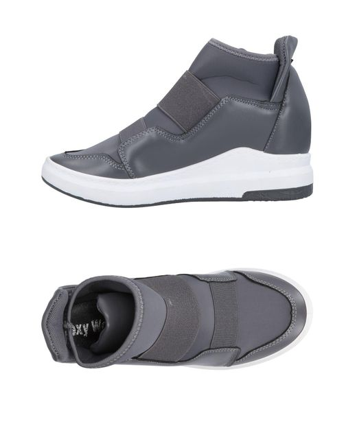 Sexy Woman - Gray High-tops & Sneakers - Lyst