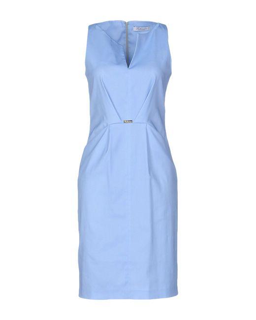 Bellissima by Raffaella Rai - Blue Short Dress - Lyst