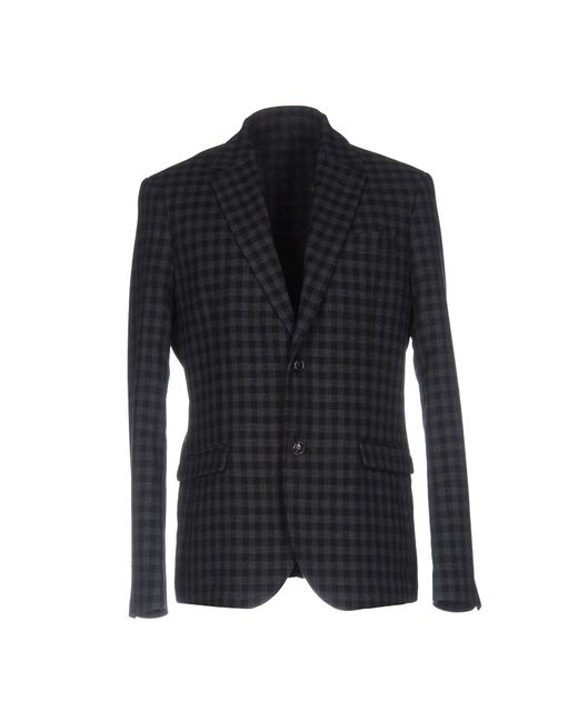 Officina 36 Blue Blazer for men