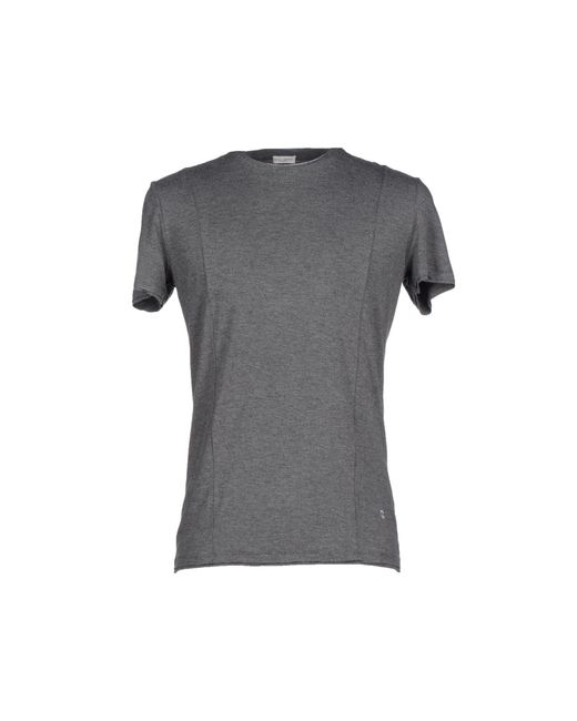 Paolo Pecora - Gray T-Shirt for Men - Lyst