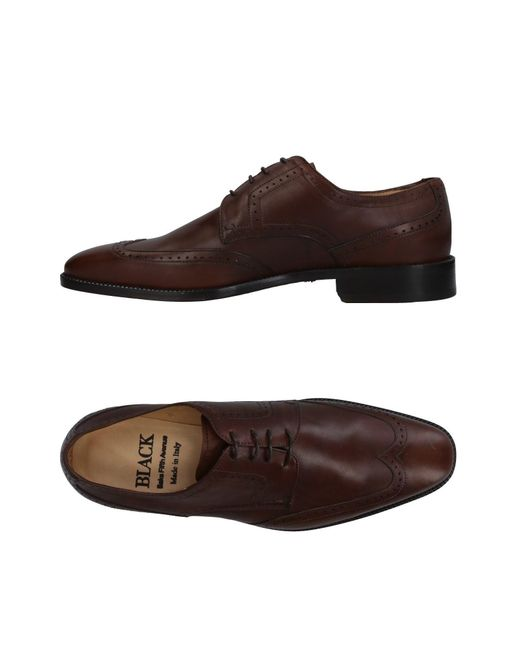 Saks Fifth Avenue - Brown Lace-up Shoe for Men - Lyst