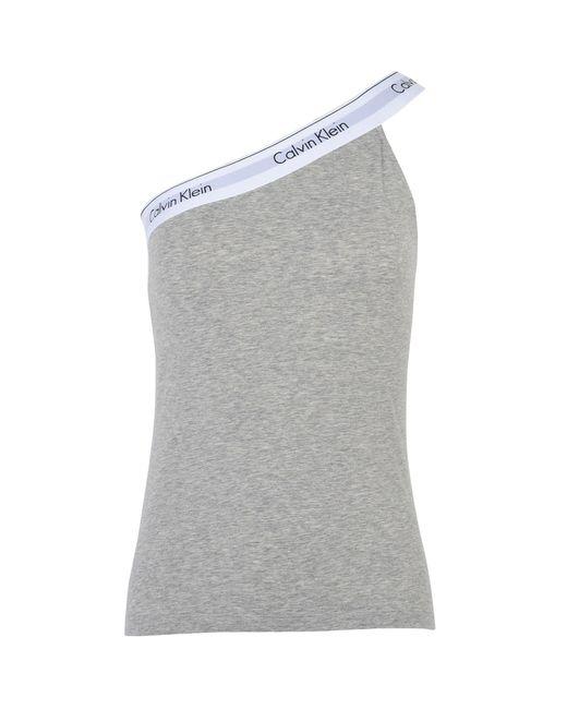 Calvin Klein | Gray Sleeveless Undershirt | Lyst