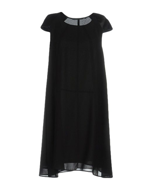 Silvian Heach - Black Short Dress - Lyst