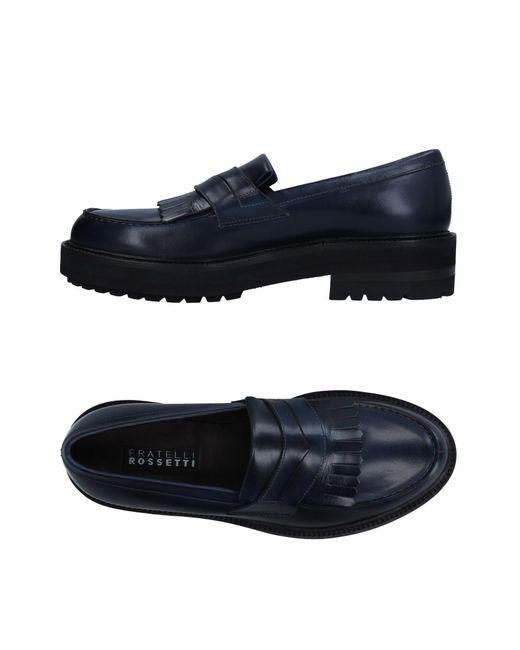 Fratelli Rossetti - Blue Loafer for Men - Lyst