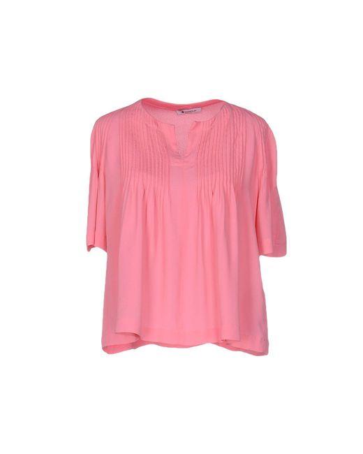 Dondup   Pink Blouse   Lyst