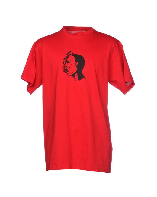 Paura - Red T-shirt for Men - Lyst