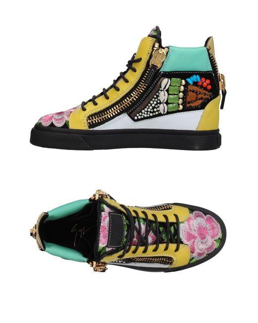 Giuseppe Zanotti - Black High-tops & Sneakers - Lyst