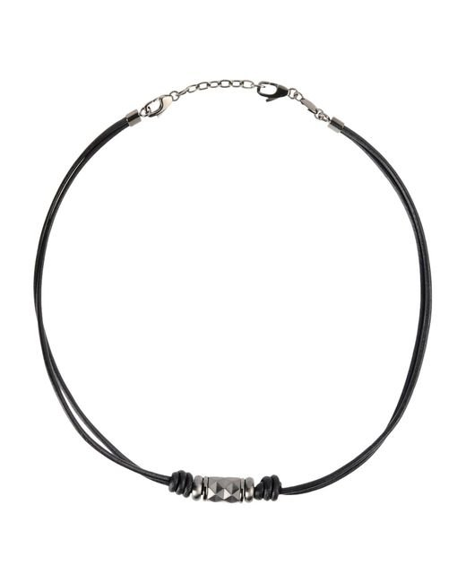 Fossil   Black Necklace   Lyst