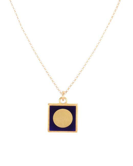 Lily Kamper   Metallic Necklace   Lyst