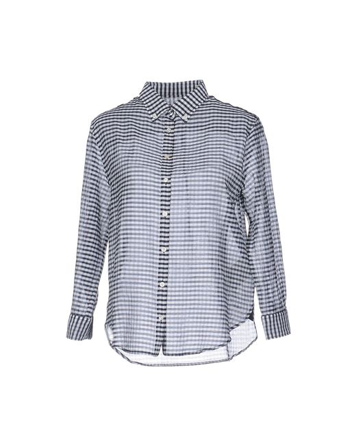 Henry Cotton's - Blue Shirt - Lyst