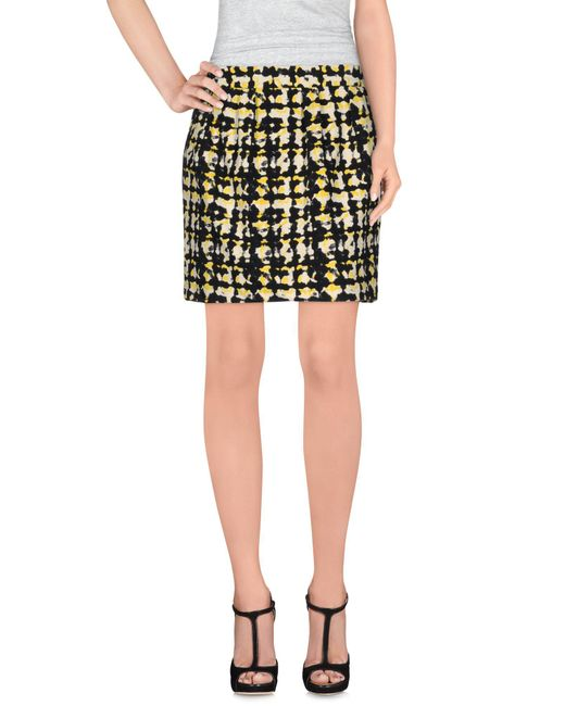 Suncoo - Black Mini Skirt - Lyst