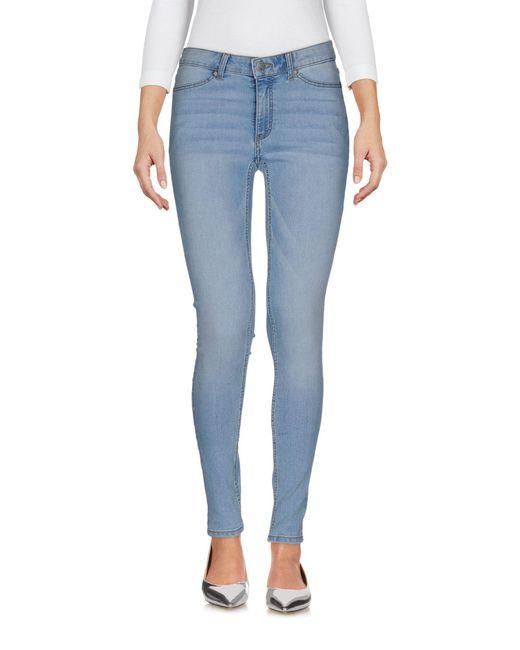 Cheap Monday Blue Denim Pants