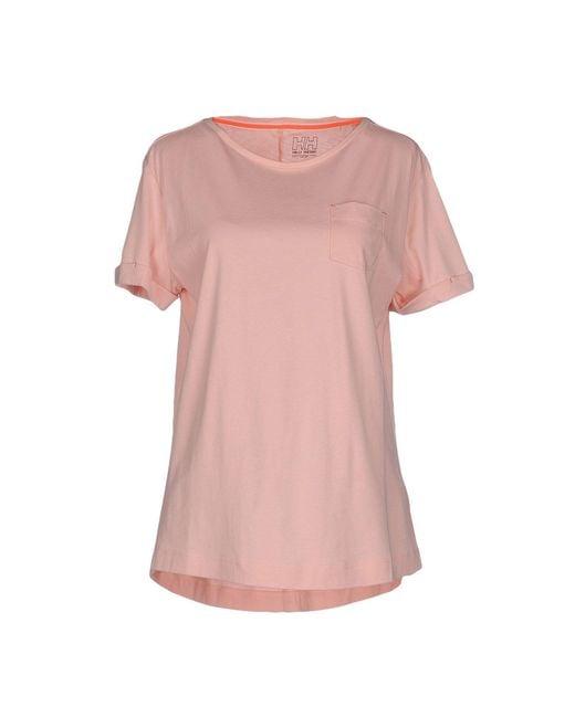 Helly Hansen - Pink T-shirt - Lyst