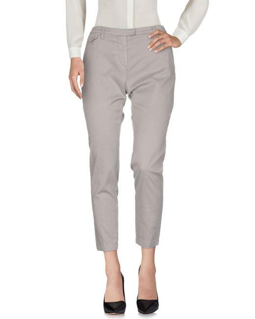 Eleventy Gray Casual Trouser