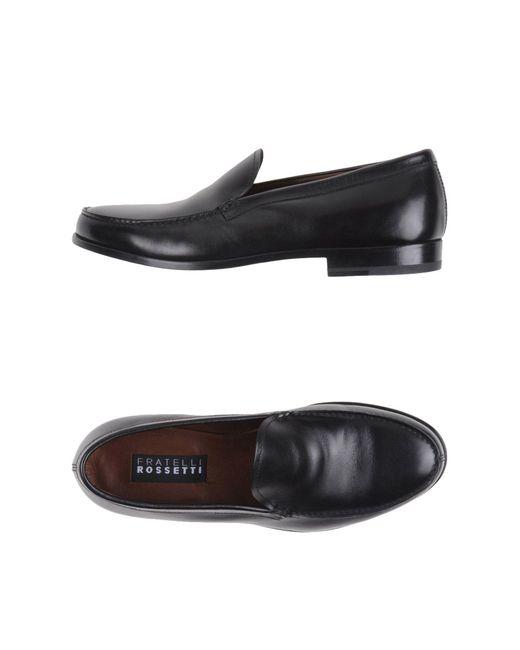 Fratelli Rossetti   Black Loafer for Men   Lyst