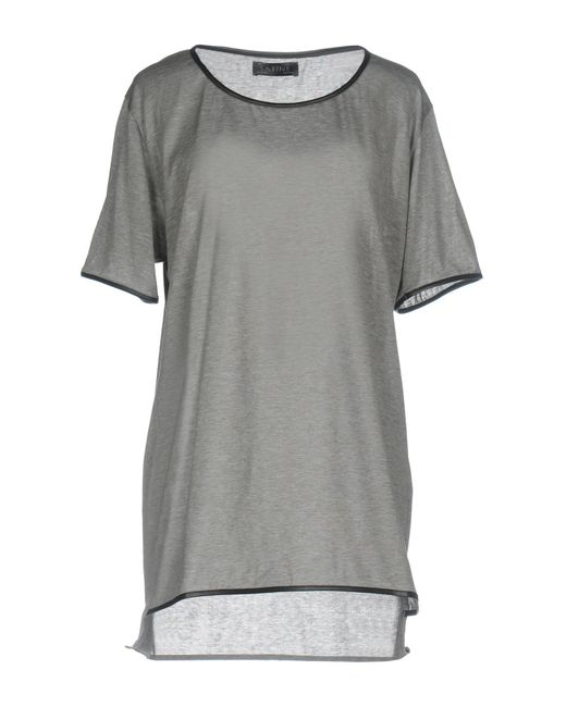 Satine Label - Gray T-shirt - Lyst