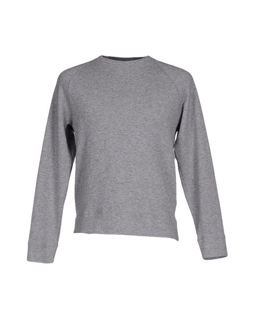 Obvious Basic - Gray Sweatshirt for Men - Lyst