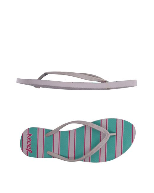 Reef | Pink Toe Post Sandal | Lyst