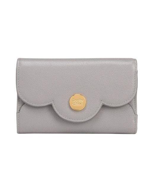 See By Chloé - Gray Wallet - Lyst
