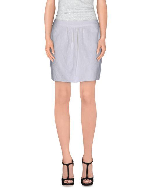 Kristina Ti - Blue Mini Skirt - Lyst