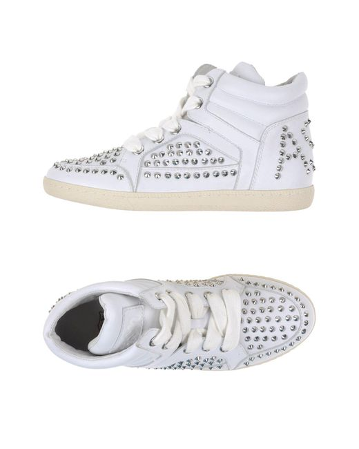 Ash - White High-tops & Trainers - Lyst