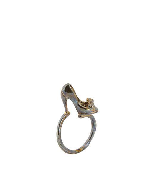 Miniac - Metallic Ring - Lyst