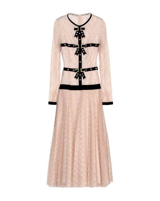 Philosophy Di Lorenzo Serafini - Pink 3/4 Length Dress - Lyst