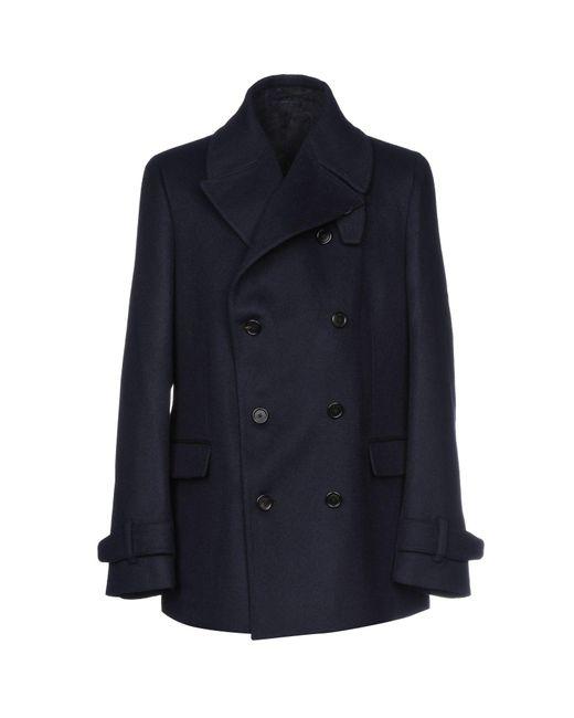 Z Zegna - Blue Coat - Lyst